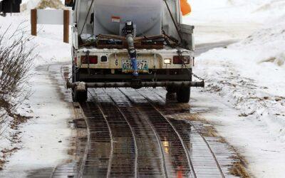 Beet Juice to Battle Icy Winter Roads